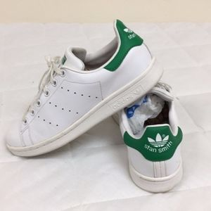 Adidas Stan Smith Shoes White Women's Size 6
